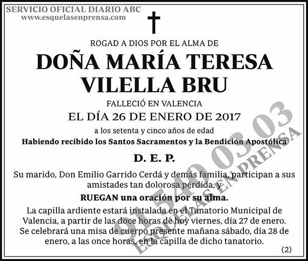 María Teresa Vilella Bru